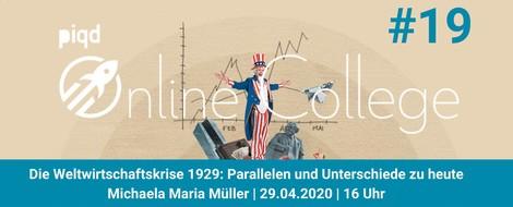 Die Weltwirtschaftskrise 1929: Parallelen und Unterschiede zu heute