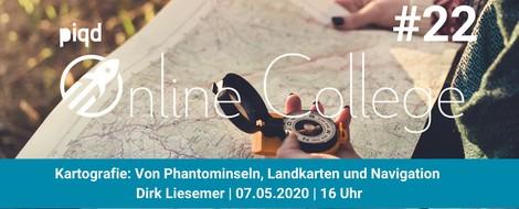 Kartografie: Von Phantominseln, Landkarten und Navigation (Dirk Liesemer, 07.05.2020, 16 Uhr)