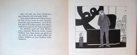 """Kinderbücher 22: Edward Gorey """"Schorschi schrumpft"""""""