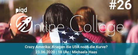 Crazy America: Kriegen die USA noch die Kurve? | 23.06.2020, 18 Uhr | Michaela Haas
