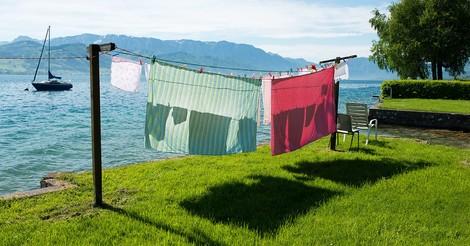 Auch das ist Wissenschaft: warum sonnengetrocknete Wäsche besonders gut riecht