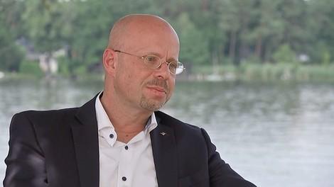 Andreas Kalbitz im RBB-Interview: Ein Neonazi zum Plaudern
