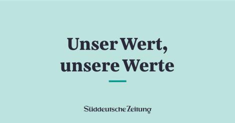 SZ-Wertepapier: Diese zehn Punkte sollen der Kompass der Süddeutschen Zeitung sein