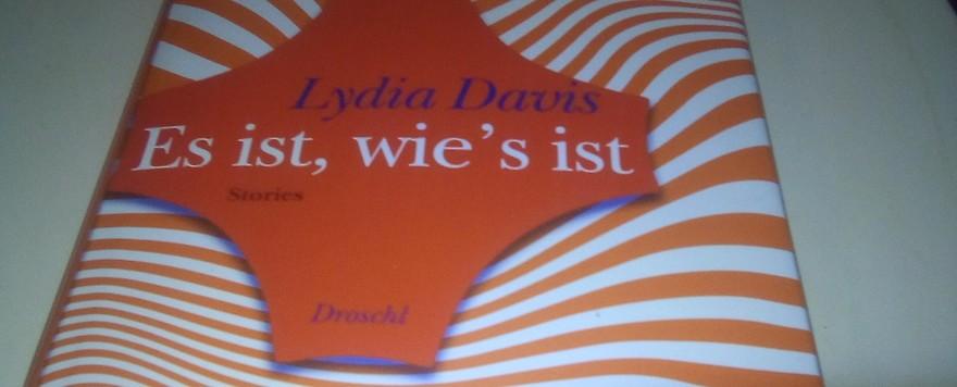 Wieder Lydia Davis