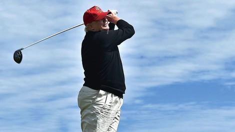 So gewinnt er immer – selbst beim Golf ist Donald Trump ein Betrüger