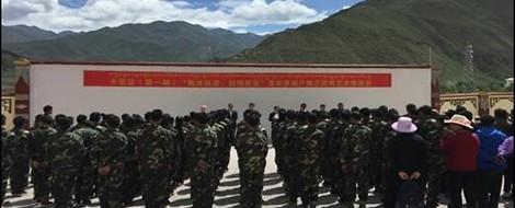 Arbeitslager in Tibet