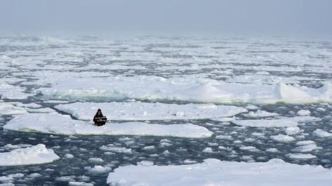 Viel weniger Eis in der Arktis
