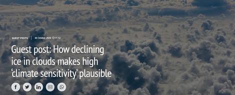Die Klimasensitivität der Erde: sind hohe Werte plausibel?