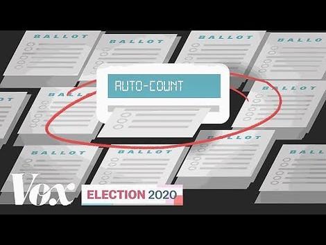 Wie werden Wahlstimmen in den USA gezählt?