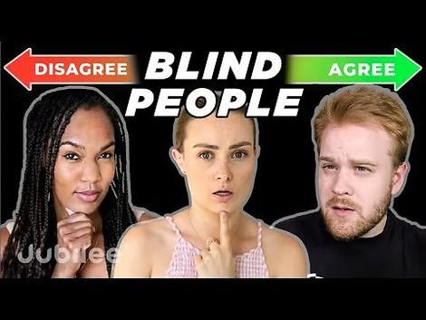 Wie manövrieren sich blinde Menschen durch unsere Gesellschaft