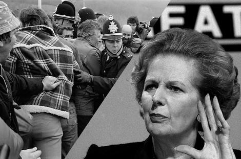Wie Thatcher den Neoliberalismus in Großbritannien durchprügelte