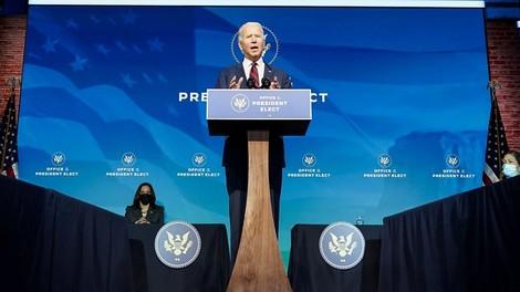 Joe Biden hat die Senatsmehrheit – aber durchregieren kann er nicht