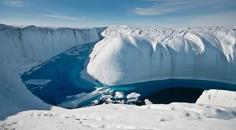 Globale Eisbilanz: 28 Billionen Tonnen sind seit 1994 geschmolzen