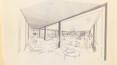 Moderne Architektur als gelebte Utopie: Werner Düttmann