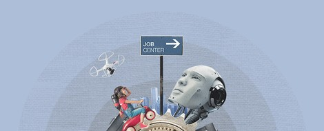 Klare zukünftige Präferenz der Beschäftigten für hybrides Arbeiten