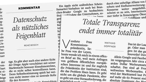 Die Doppelmoral des Axel-Springer-Verlags beim Datenschutz
