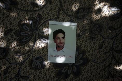 Von den Afghanen, die vom Flugzeug fielen